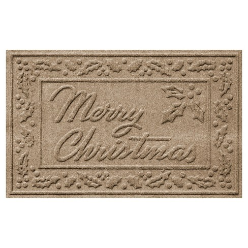 Bungalow Flooring Aqua Shield Merry Christmas Floormat - image 1 of 2