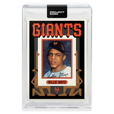 Topps Topps PROJECT 2020 Card 346 - 1952 Willie Mays by Grotesk