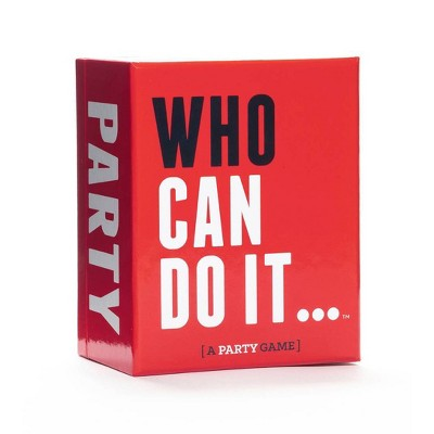 Who Can Do It Party Game