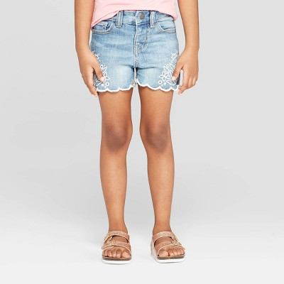 Genuine Kids® from OshKosh Toddler Girls' Jean Shorts - Blue 12M
