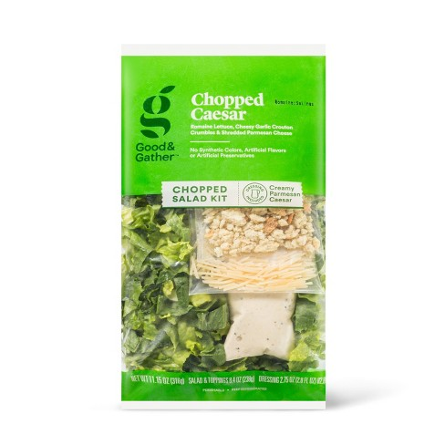 Chopped Caesar Salad Kit - 11.15oz - Good & Gather™ - image 1 of 4