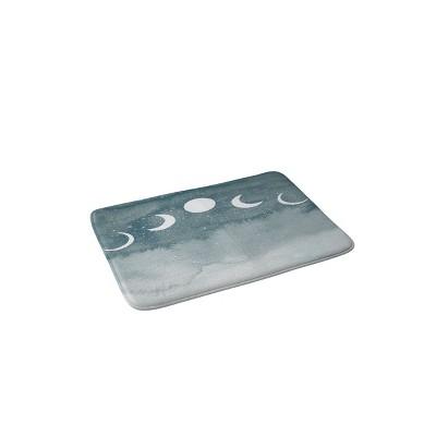 Hello Twiggs Cosmos Memory Foam Bath Mat Blue - Deny Designs