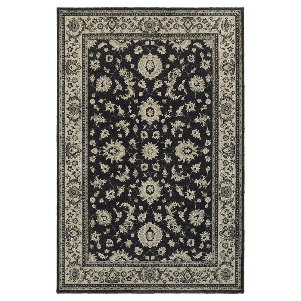 7'X10' Shapes Area Rug Blue