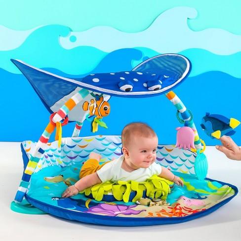 49592d286 Disney Baby Finding Nemo Mr. Ray Ocean Lights Activity Gym   Target