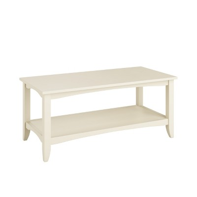Charmant Cambridge Two Tiered Coffee Table Black   CorLiving