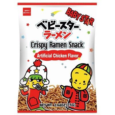 Shirakiku Baby Star Ramen Chips Original - 2.64oz