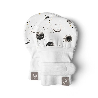 Goumikids Bamboo Organic Cotton Stay-On Mitts