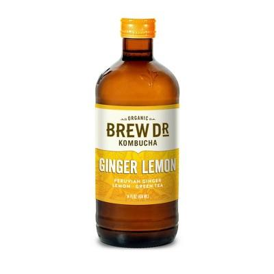 Brew Dr. Kombucha Ginger Lemon - 14 fl oz