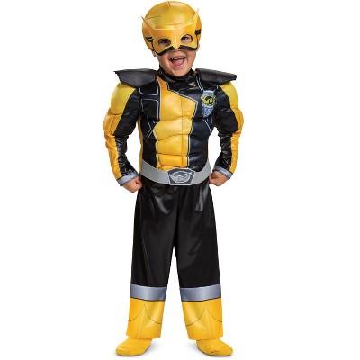 Power Rangers Gold Ranger Beast Morphers Muscle Toddler Costume
