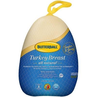 Butterball All Natural Turkey Breast - Frozen - 6-9lbs - price per lb
