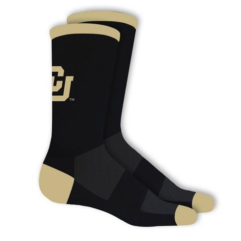 NCAA Colorado Buffaloes Big Game Crew Socks 10-13 - image 1 of 1
