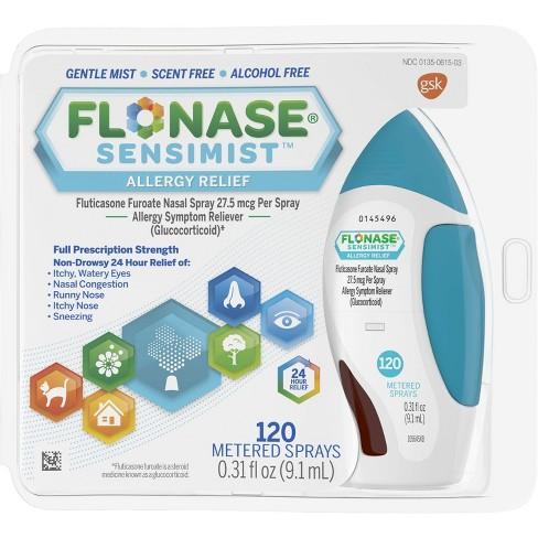 Flonase Sensimist 24-Hour Allergy Relief Nasal Spray - Fluticasone Furoate - 0.31 fl oz - image 1 of 4