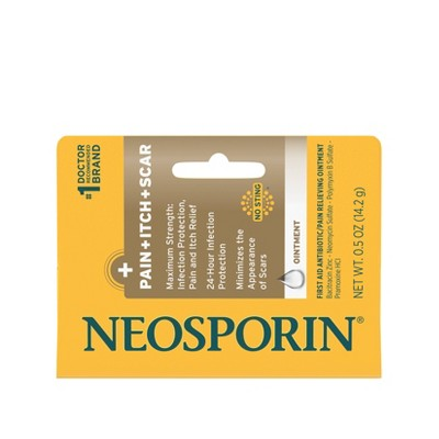 Neosporin First Aid Antibiotic and Pain Relieving Ointment