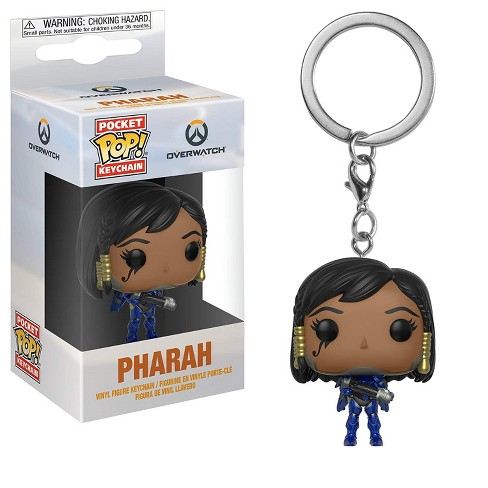Funko Pop Keychain: Overwatch - Pharah Collectible Figure, Multicolor - image 1 of 1