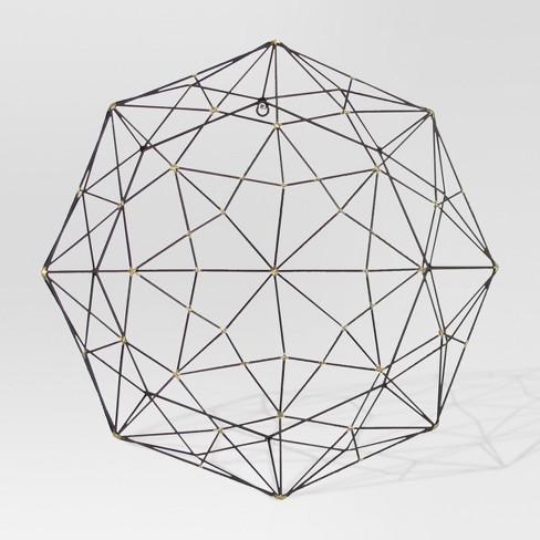 octagonal gold metal wall sculpture project 62 target