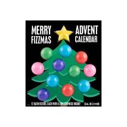 Da Bomb Bath Fizzers Merry Fizzmas 12-Day Advent Calendar Bath Soaks - 24oz