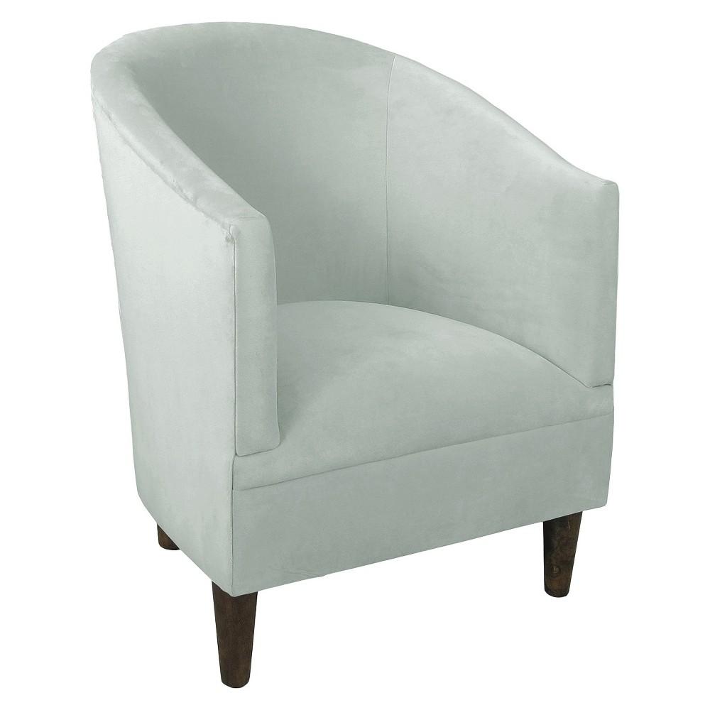 Skyline Custom Upholstered Tub Chair - Skyline Furniture, Velvet Pool