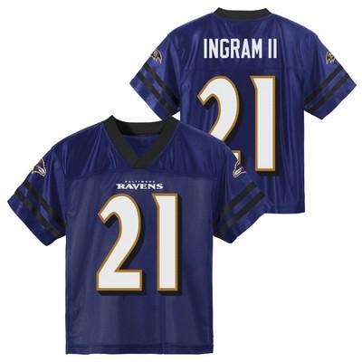NFL Baltimore Ravens Toddler Boys' Mark Ingram Short Sleeve Jersey