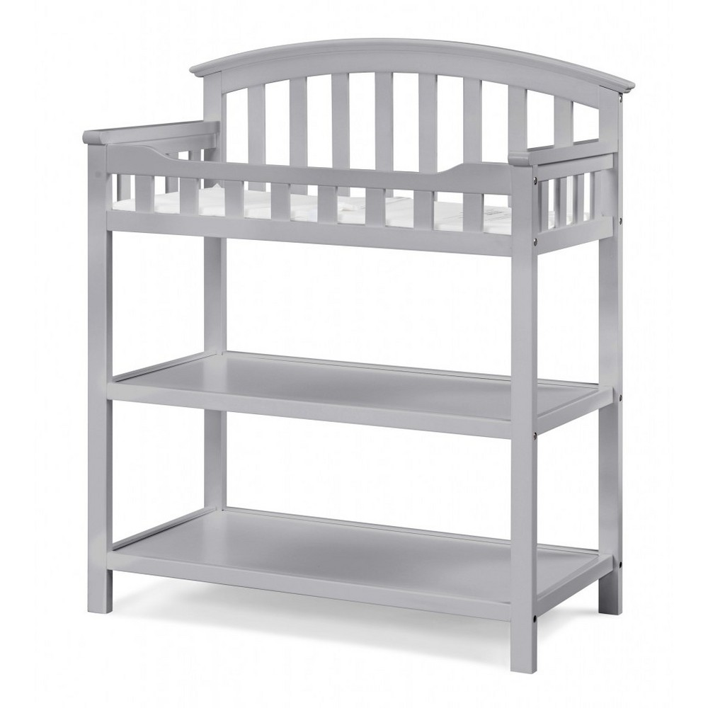 Image of Graco Changing Table - Pebble Gray