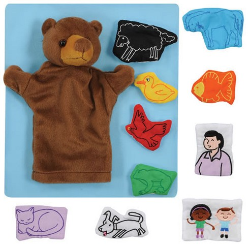 Marvel Education Company Brown Bear Puppet and Props - image 1 of 1