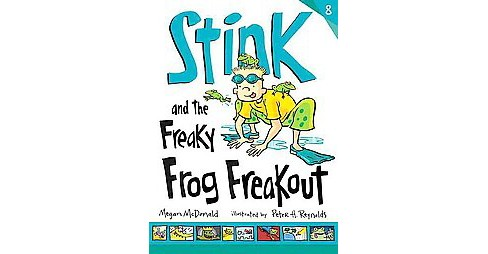 Stink and the Freaky Frog Freakout (Hardcover) by Megan Mcdonald - image 1 of 1