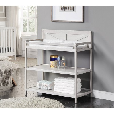 Suite Bebe Barnside Changing Table - Washed Gray