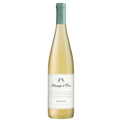 Ménage à Trois Moscato White Wine - 750ml Bottle
