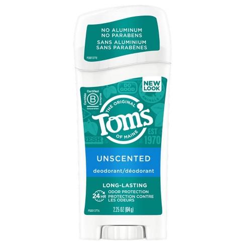 Tom's of Maine Original Care Deodorant Unscented - 2.25oz - image 1 of 4