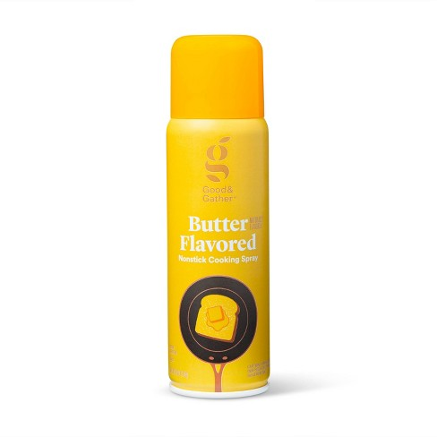 Nonstick Butter Flavored Cooking Spray - 6oz - Good & Gather™ - image 1 of 2