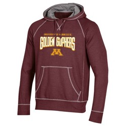 NCAA Minnesota Gophers Men's Long Sleeve Cotton Hoodie