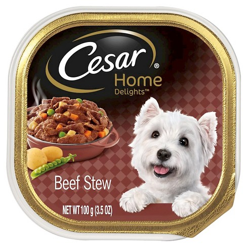 CESAR® Canine Cuisine Home Delights Beef Stew Wet Dog Food - 3.5oz - image 1 of 2