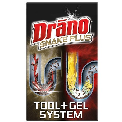 Drain Cleaners: Drano Snake Plus