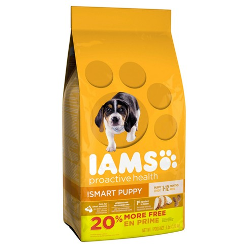 Iams ProActive Health Smart Puppy Dry Dog Food - 7lb