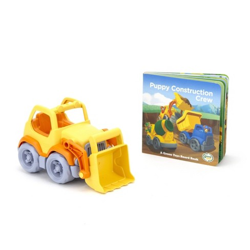 Green Toys Scooper with Board Book - image 1 of 4
