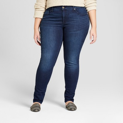 Which stores carry plus size skinny jeans?