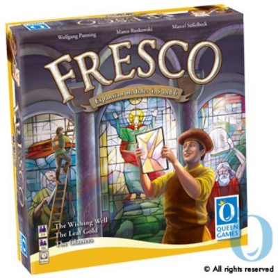 Fresco Expansion - Modules 4, 5, and 6 Board Game