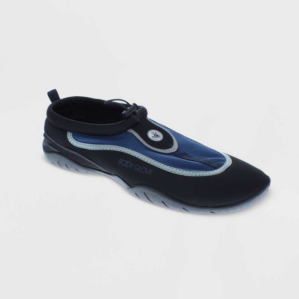 Men's Body Glove Riptide 3 Water Shoes - Black 10, Blue Black