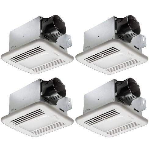 100 Cfm Bathroom Fan With Led Light