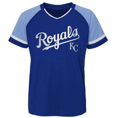 MLB Kansas City Royals Boys' Pullover Jersey