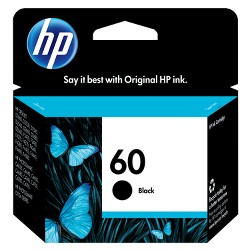 HP 60 Single Ink Cartridge - Black (CC640WN#140)