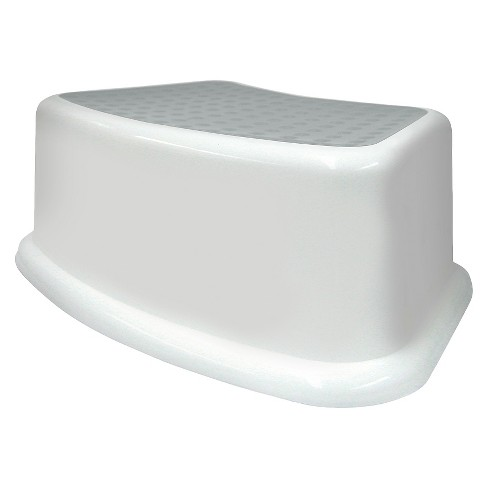 Toilet Step Stool White - Pillowfort™ - image 1 of 1