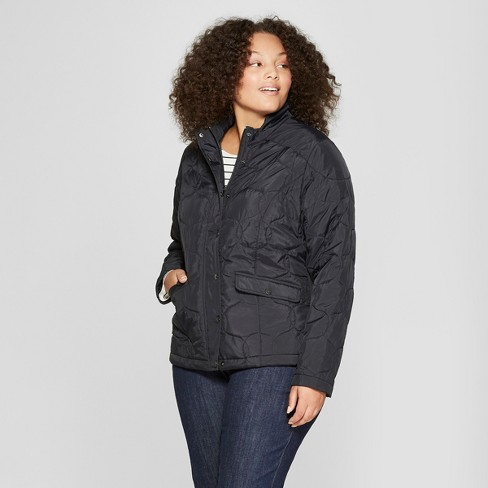 3a70b118863 Women s Plus Size Quilted Jacket - A New Day™...   Target