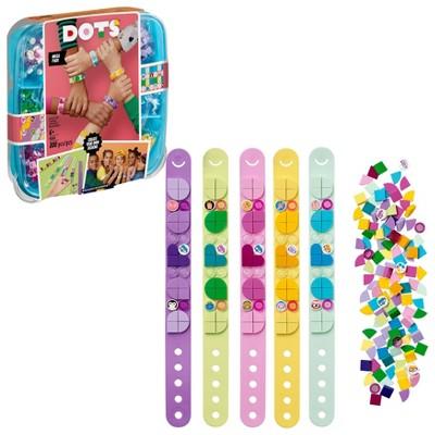 LEGO DOTS Bracelet Mega Pack DIY Creative Craft Bracelet-Making Kit for Kids 41913