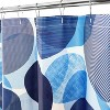 Textured Circle Shower Curtain - Allure Home Creations - image 3 of 4
