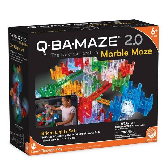 MindWare Q-BA Maze Bright Lights Large Set image number null