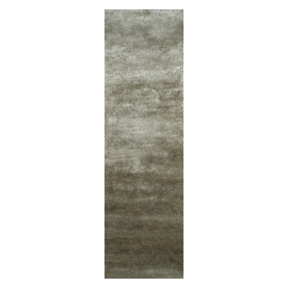 2'3X8' Solid Tufted Runner Sage (Green) - Momeni
