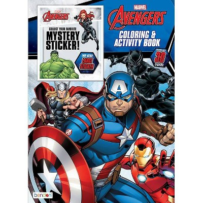 Avengers Mystery Sticker Book - Target Exclusive Edition