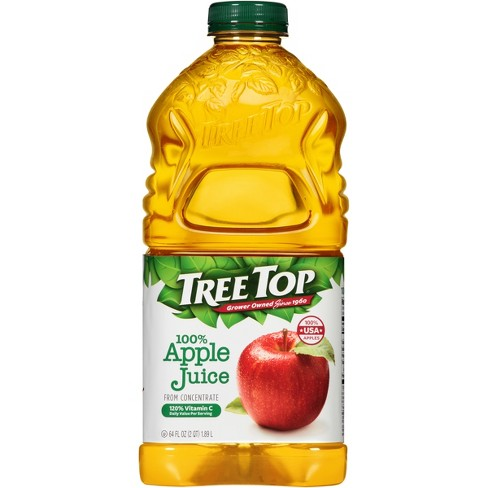 Tree Top 100% Apple Juice - 64 fl oz Bottle - image 1 of 3