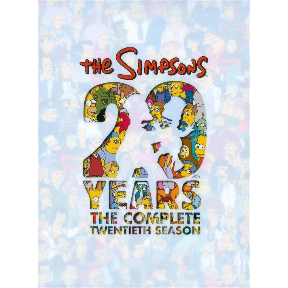 The Simpsons: The Complete Twentieth Season [4 Discs]