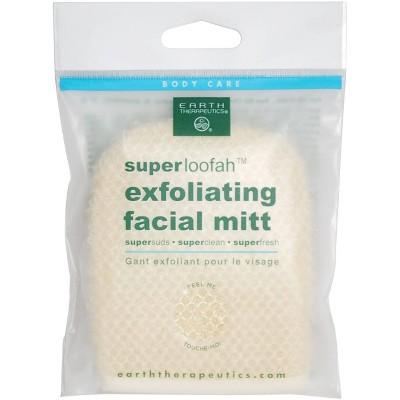 Earth Therapeutics Super Loofah Facial Mitt - 1ct